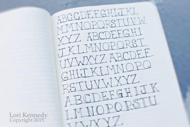 Alphabet Doodles