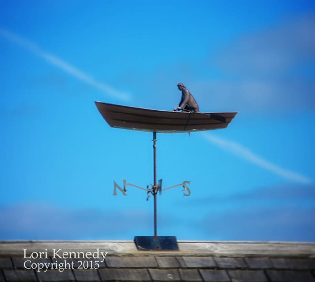 Rowboat, Weathervane, Cape Cod
