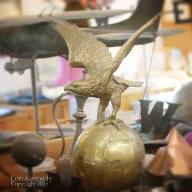 Eagle, Weathervane