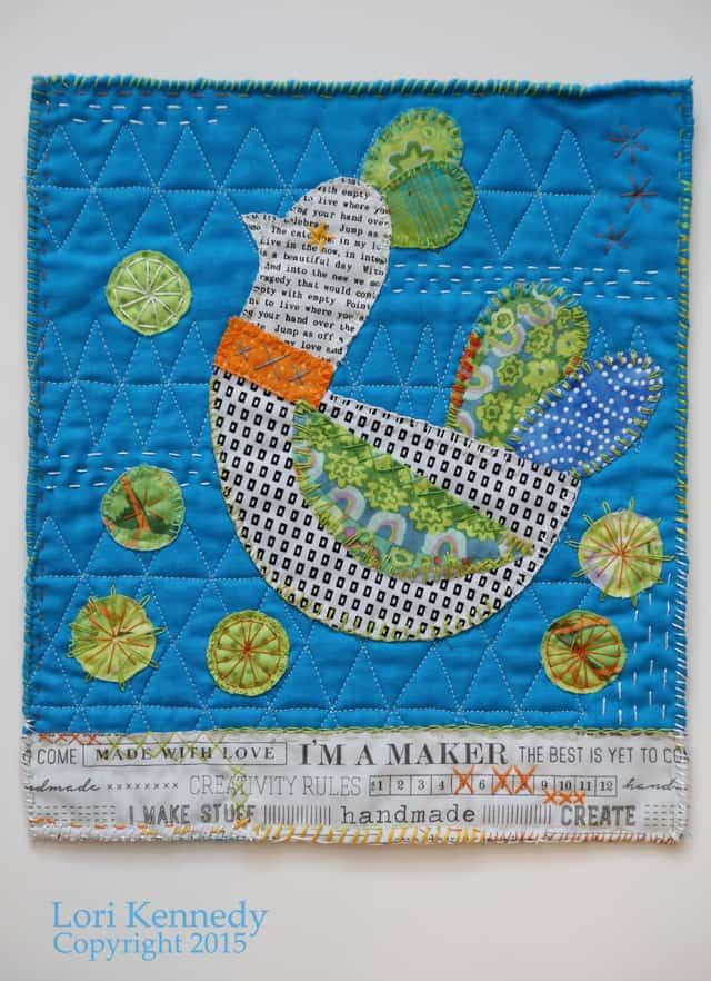 Bird Mini Quilt