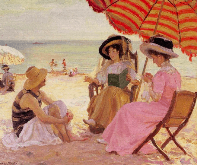At the Beach, Fournier