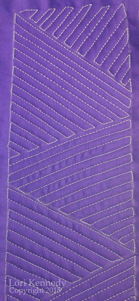 Straight Line Triangles, LKennedy, FMQ