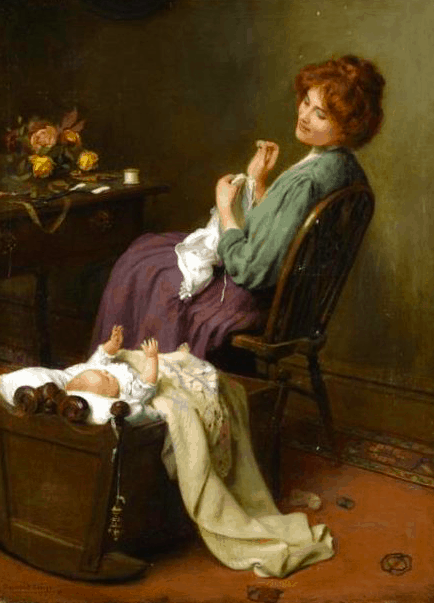 Mother's Darling, Arthur John Elsley