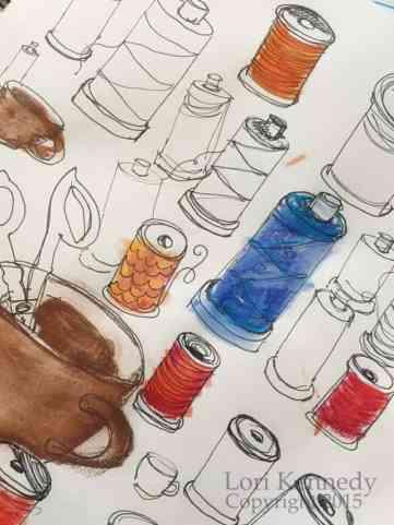 Sketching, Spools