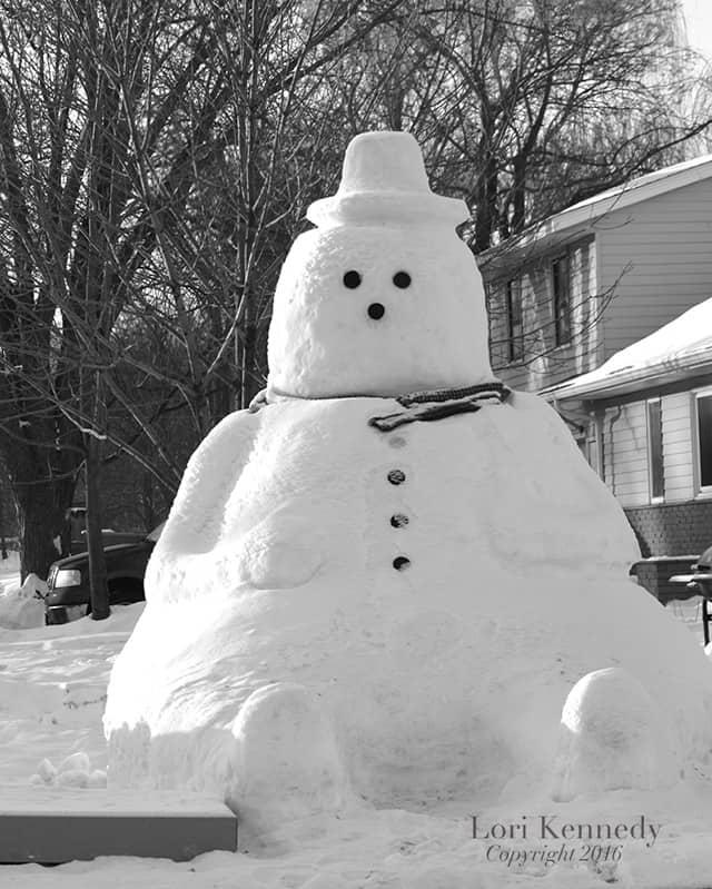 Snowman, Minnesota