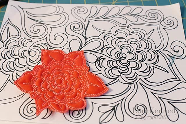 Faye's Flower, FMQ, Lori Kennedy