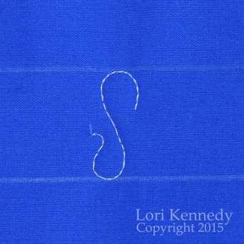 Ribbon Candy, FMQ, Lori Kennedy