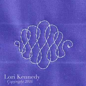 Ribbons, FMQ, Lori Kennedy