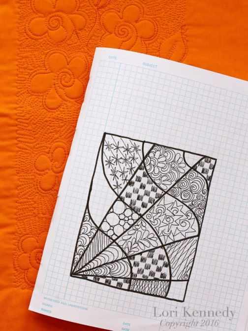 FMQ, Doodles, Zentangles, Lori Kennedy