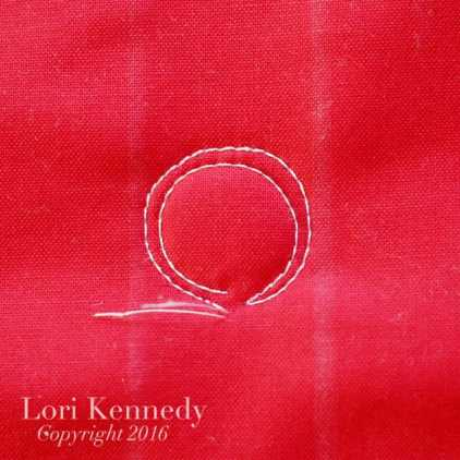 Buttons, Machine Quilting, Lori Kennedy