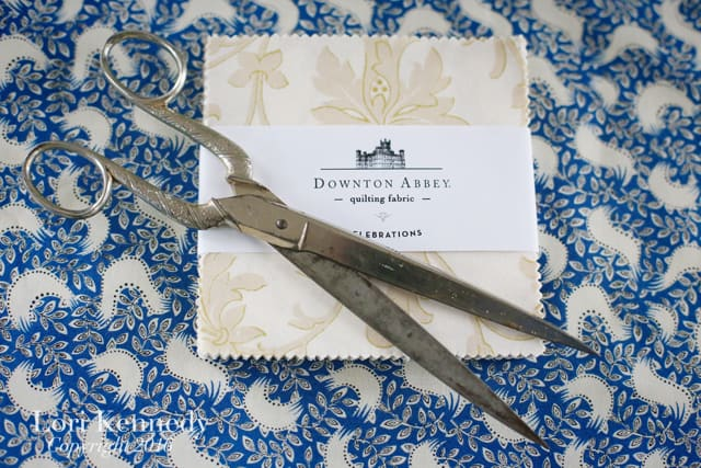 Downton Abbey Fabric, Andover Fabrics, Lori Kennedy