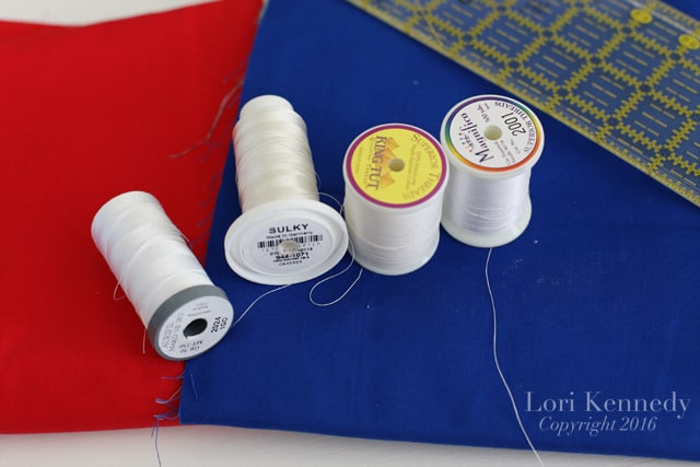 Quilting Thread, Lori Kennedy