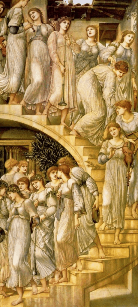 The Golden Stairs, Eduard Burne Jones