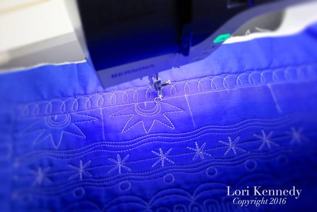 Sampler, Machine Quilting, Lori Kennedy