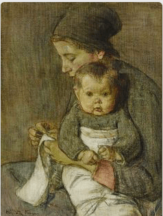 Elizabeth Nourse, Woman and Baby