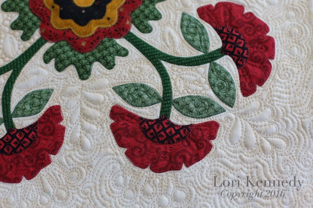 Annie Smith, Applique, Machine Quilting