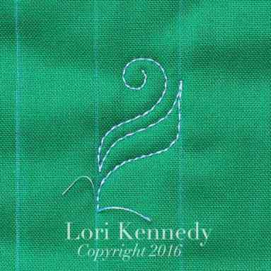 Lori Kennedy, Machine Quilting, Scrollwork, Tutorial