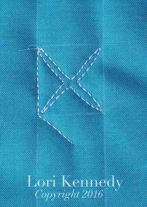 Lori Kennedy, Machine Quilting, Tutorial, X