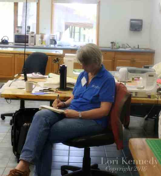John C Campbell Folk School, Free Motion Quilting