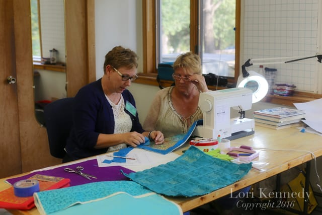 John C Campbell Folk School, Free Motion Quilting