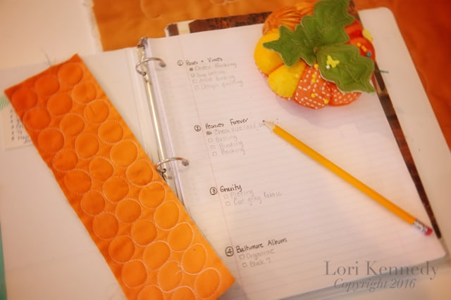 Quilter's Notebook, Lori Kennedy