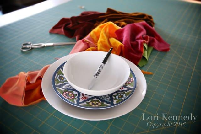 Velvet pumpkins tutorial, Lori Kennedy