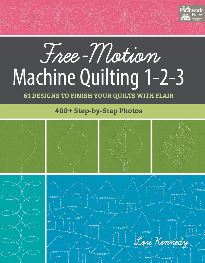 Book, Free Motion Machine Quilting 1-2-3