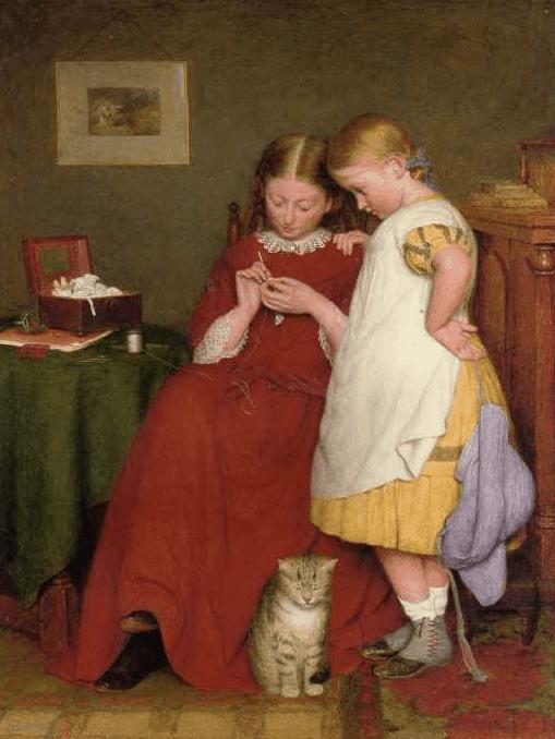 Edward Thompson Davis, Seamstresses in Fine Art
