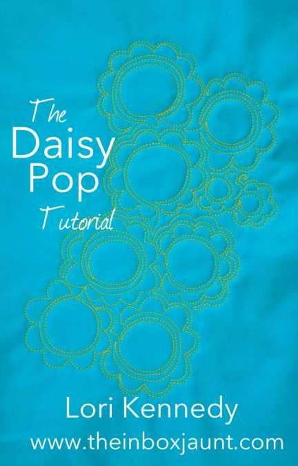 Machine Quilting, Daisy, Lori Kennedy