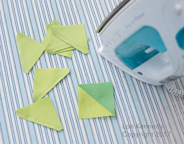 Triangles on a Roll, Lori Kennedy