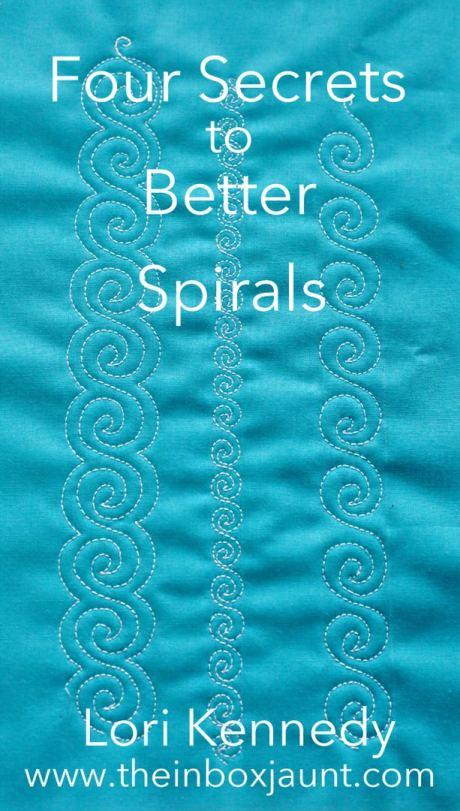Spirals, Lori Kennedy, FMQ