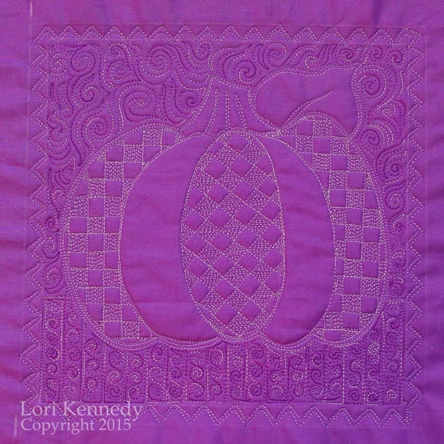 Lori Kennedy Quilts, The Pumpkin Sampler