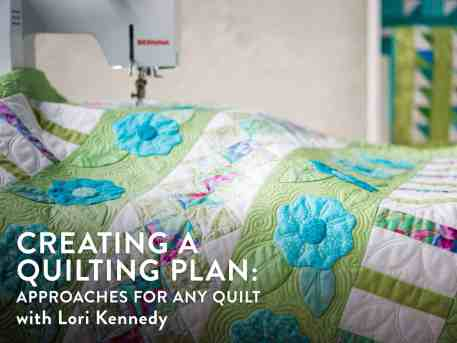 Craftsy: Creating a Quilting Plan