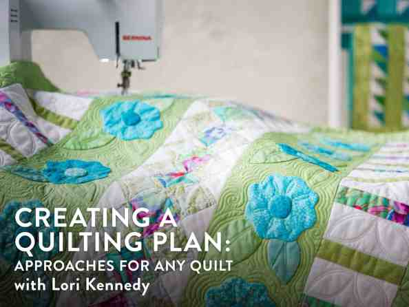Bluprint, Creating a Quilting Plan