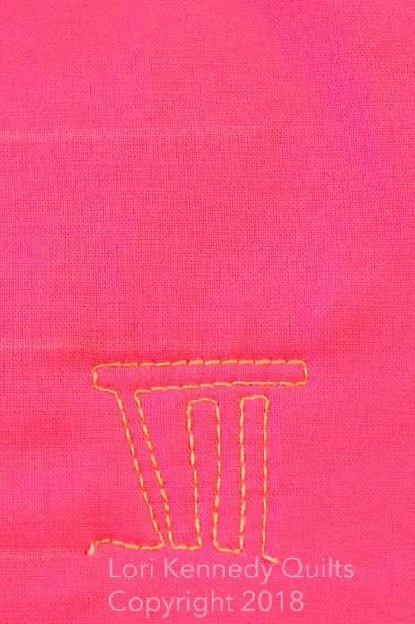 Lori Kennedy Quilts, Valentine motif