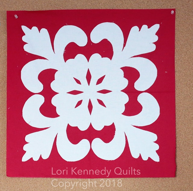 Hawaiian Applique, Lori Kennedy, Red and White Quilts
