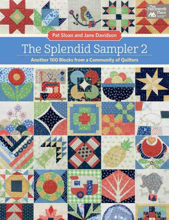 The Splendid Sampler 2 book cover