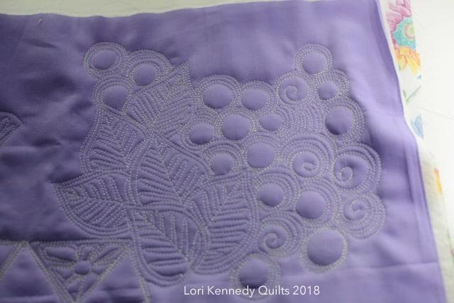 Machine Quilting, Play, Lori Kennedy
