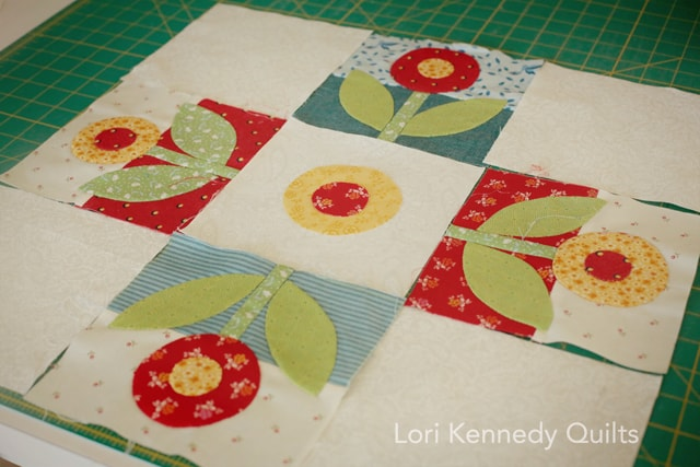 Rose and Dot Block, Lori Kennedy