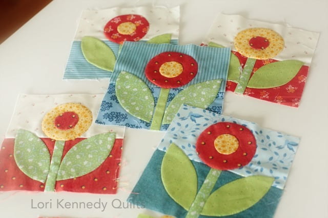 Rose and Dot Block, The Splendid Sampler 2, Lori Kennedy