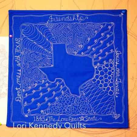 Texas Quilt Sampler, Background Motifs