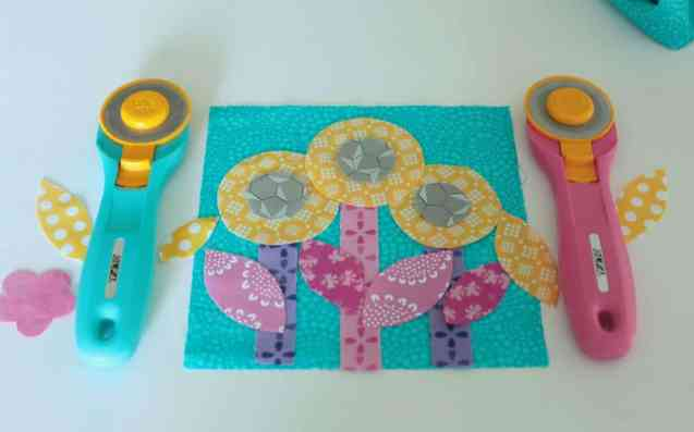 """Rotary cutter """"flowers"""""""