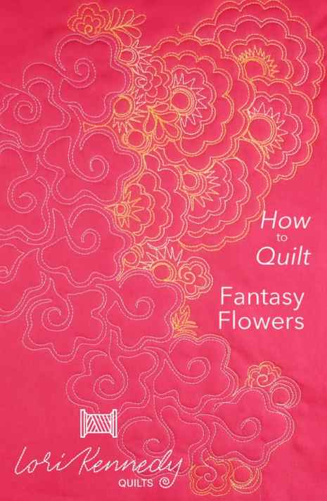 Fantasy Flower Motif, Machine Quilting, FMQ