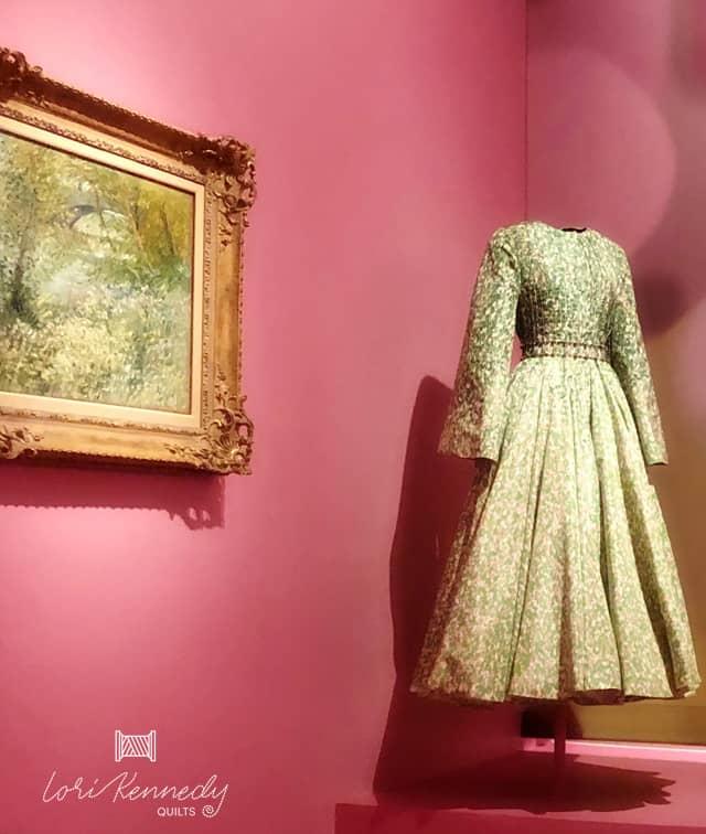 Monet inspired dress
