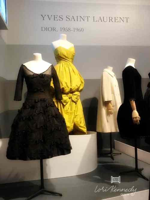 Yves Saint Laurent for Christian Dior