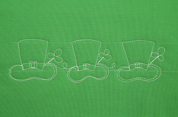How to Quilt a Leprechaun's Hat
