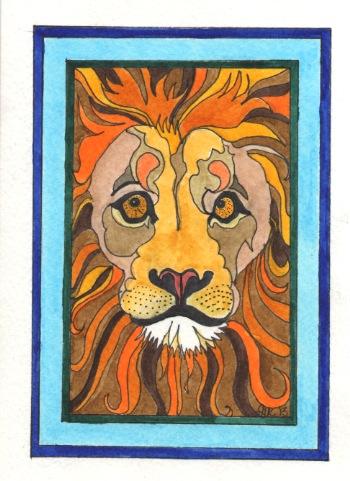 Lion - GB13 $4
