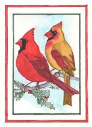 Christmas Cardinals - GJX12 $4