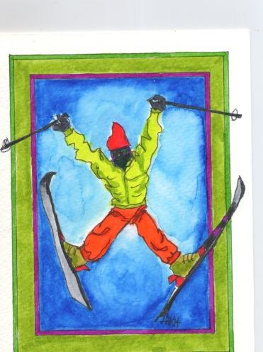 Ski Jump - HJB14 $4