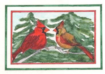 Christmas Cardinals #2 - J&GX12 $4